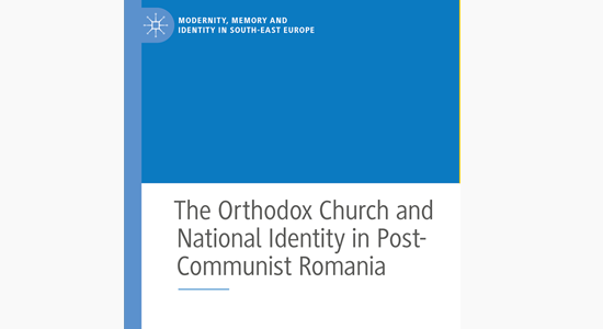 Cover of The Orthodox Church and National Identity in Post-Communist Romania